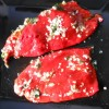 Pečena crvena paprika s belim lukom