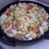 Dinstana teletina sa povrćem