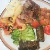 Pečena jagnjetina s povrćem