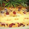 Puding torta s višnjama i orasima
