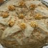 Torta od palačinki sa slatkom pavlakom i orasima