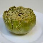 Punjene artičoke na vegetarijanski način