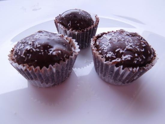 posne čokoladne kuglice