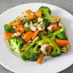 Piletina sa brokolijem i šargarepom