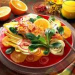 Salata sa cikorijom i piletinom