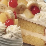 Sladoled torta sa voćem
