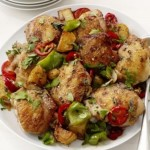 Pečena piletina sa paprikom