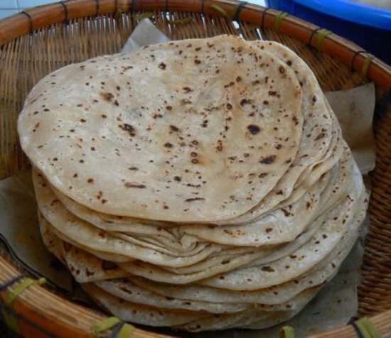 Čapati je tradicionalni indijski hleb. Služi se u svakom delu Indije