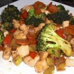 Tofu sa povrćem recept