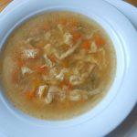 Pileća supa sa kapancima