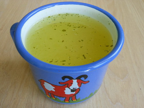 Pileća supa sa algom vakame
