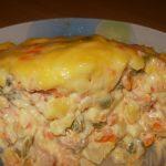Ruska salata sa domaćim majonezom