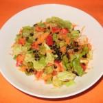 Salata sa crnom sojom