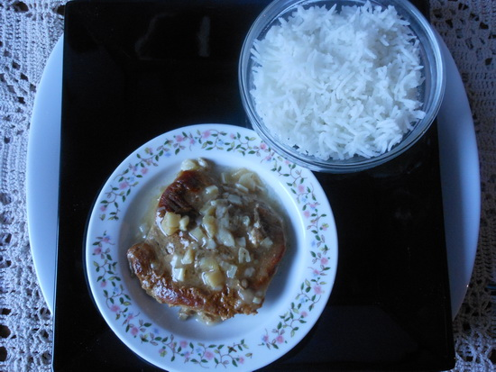 Milanske šnicle sa basmati pirinčem