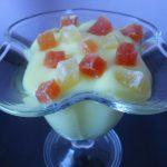 Vanilin krem sa kandiranim voćem