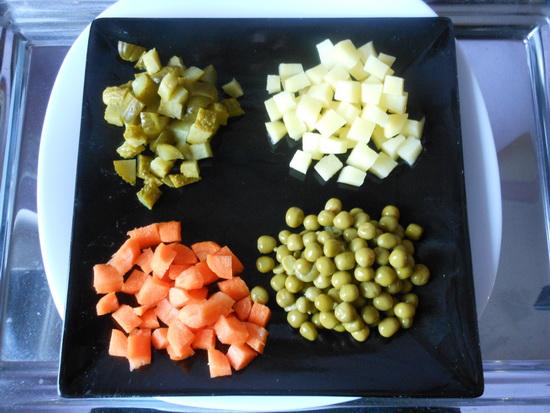 1 francuska salata
