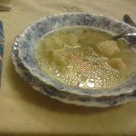 Pileća supa sa griz knedlama