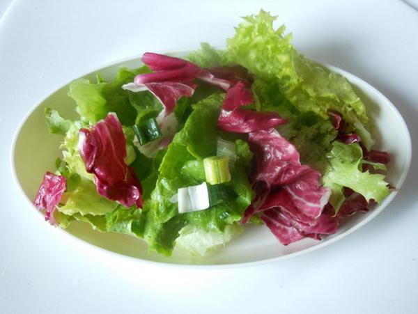 Radić i zelena salata