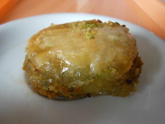 1 Baklava s pistaćima