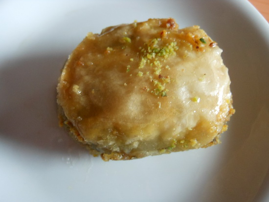 Baklava s pistaćima