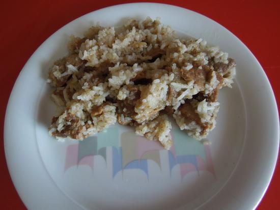 Junetina sa basmati pirinčem