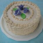 Torta bela kraljica