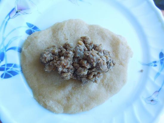 1 Pržene knedle sa mlevenim mesom