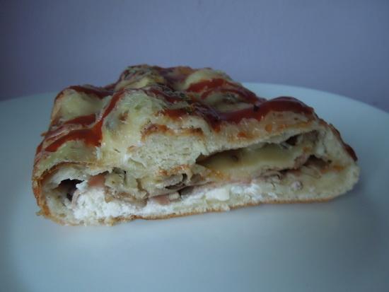 Piroške sa sirom, šunkom i šampinjonima