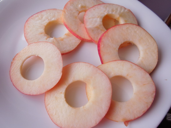 1 čips od jabuka