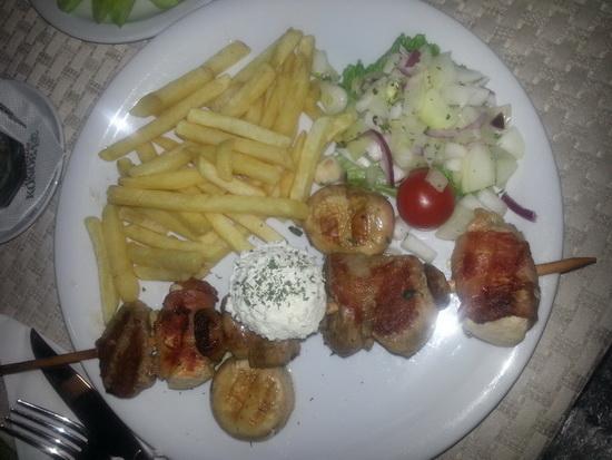 Zlatiborski raznjic ( teletina, svinjetina,piletina)