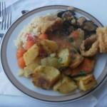 Carski ručak s morskim plodovima i prosom