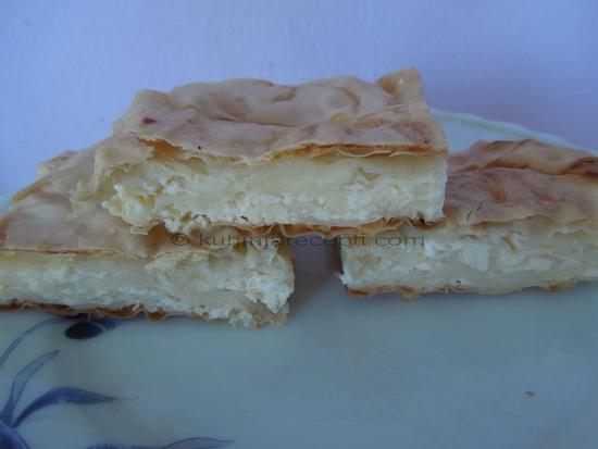 Pita s tofu sirom