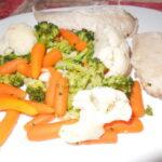 Lešo piletina s povrćem