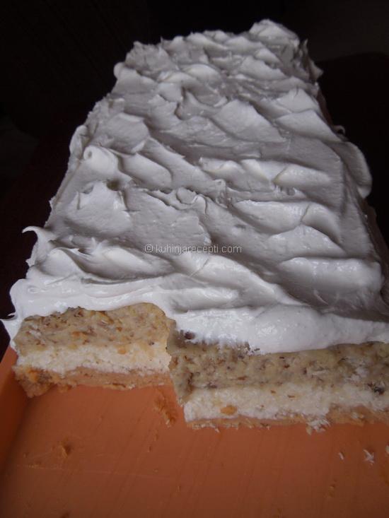 Nepečena bajadera torta