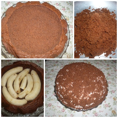 Krtica torta sa bananama