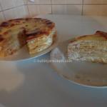 Slana torta sa palacinkama od kukuruznog brasna