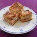 Slozena pita sa sunkom, slaninom i sirom