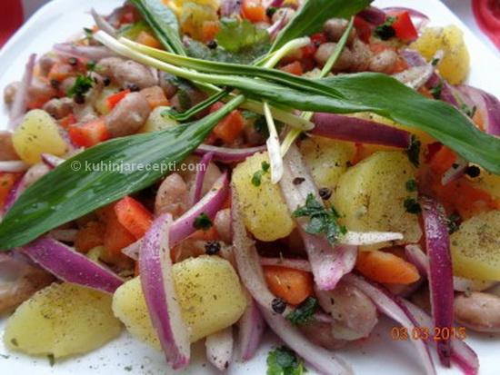 Specijalitet salata od pasulja
