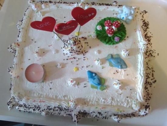 Vesela pesak torta