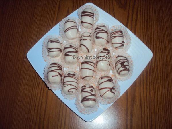 Trufel s kokosom i belom čokoladom