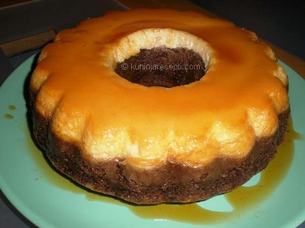 Kremasta karamel torta