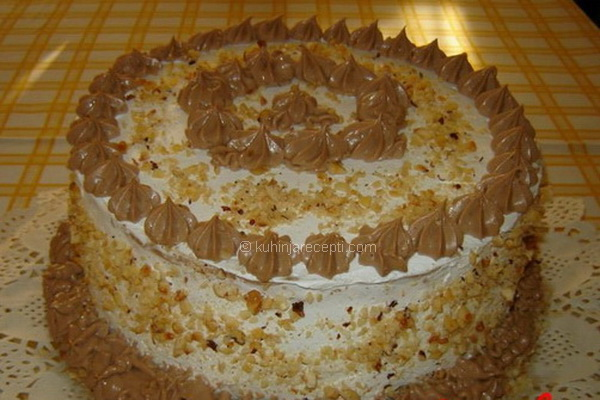 Torta Egipat s tamnom čokoladom