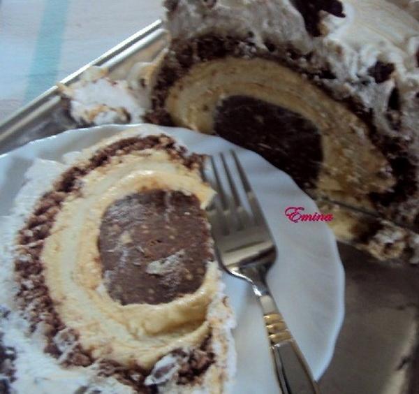 Tunel torta sa mljevenim orasima i keksom