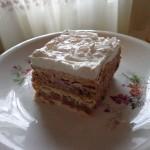 Nepečena kesten torta