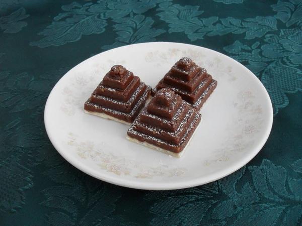 Čokoladne košnice s orasima