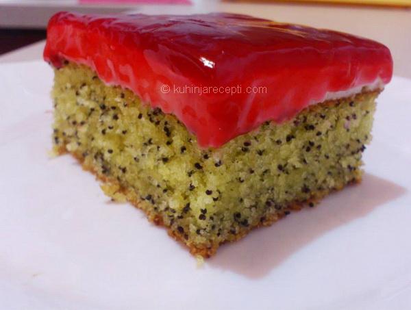 Mak kolač Haşhaşlı Kek