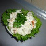 Posna salata s morskim račićima