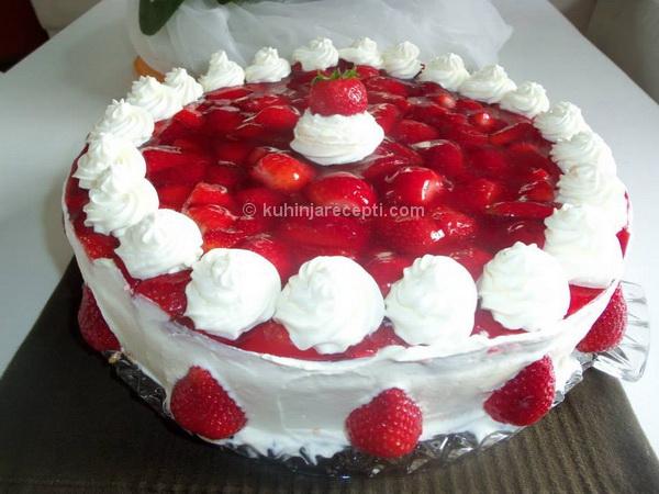Jagoda torta