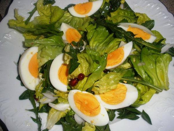 Zdrava proljetna salata