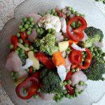 Povrće s piletinom